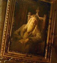Albus Dumbledore's portrait