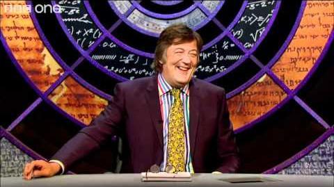 Toblerone-Rolo-Combo - QI Series 8 Episode 1 Hodge Podge - BBC One