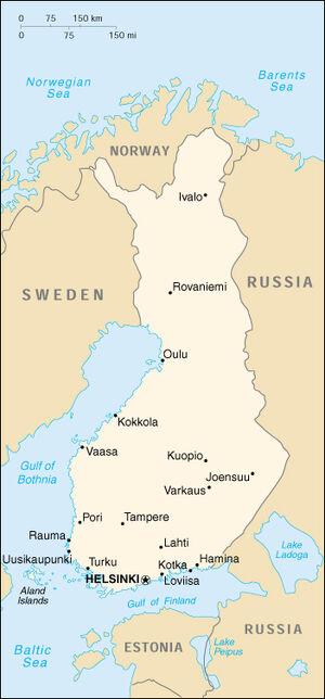 Finland-map