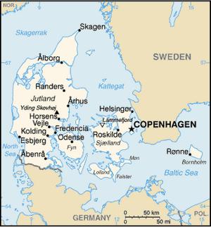 Denmark-CIA WFB Map