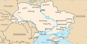 Ukraine-CIA WFB Map