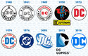 Dc comics 2016 logo evolution