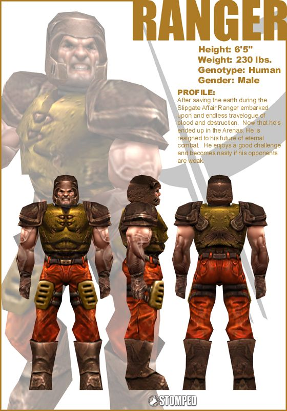 Ranger (Q3) | QuakeWiki | FANDOM powered by Wikia