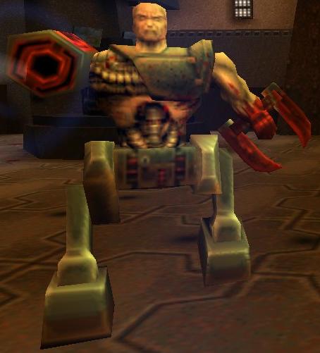 Znalezione obrazy dla zapytania quake 2 gladiator