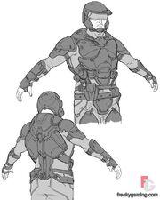 Space Marine uniform