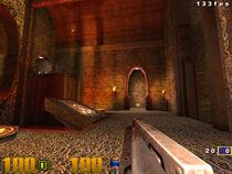 Q3 HUD gameplay