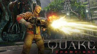 Quake Champions – BJ Blazkowicz Champion Trailer
