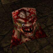 Multi-Grenade Ogre Gibbed Head