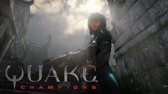 Quake Champions Nyx Champion Trailer