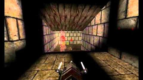 Quake 1 Dissolution Of Eternity - Episode 1 (Hell's Fortress) - Map 6 (Temple Of Pain)