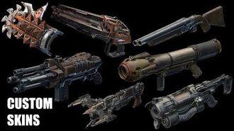 Quake Champions custom weapon skins