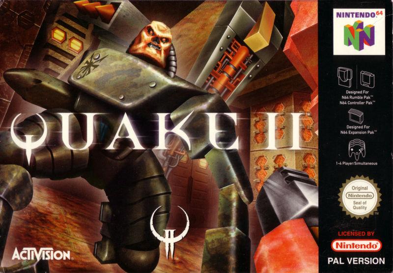Quake II (Nintendo 64 version) | QuakeWiki | FANDOM powered by Wikia