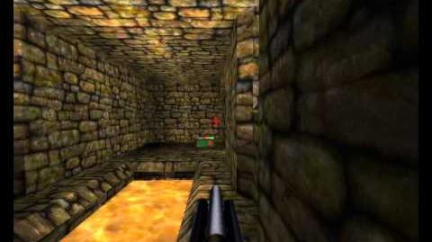 Quake 1 Scourge Of Armagon - Episode 2 (Dominion Of Darkness) - Map 3 (The Catacombs) P2