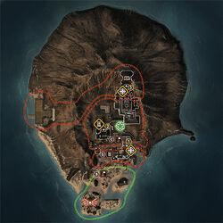 Map volcano
