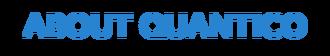 About Quantico (Final Font)