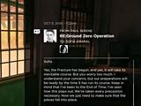 RE: Ground Zero Operation
