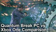 Quantum Break PC vs Xbox One Graphics Comparison