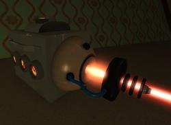 Portable laser