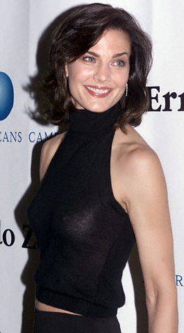 Terry Farrell bathing suit