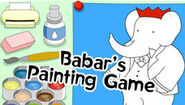 Babar's Painting Game