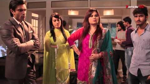 Qubool Hai - BTS - Discussion on Two Families Meeting at Haseena Bi's!
