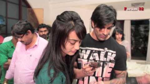 Qubool Hai - Video of 200 Episode Completion Celebrations on the Set
