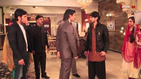 Qubool Hai - BTS - Asad and Ayaan Face Off!