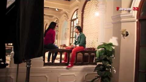 Qubool Hai - BTS - Zoya and Haider Planning Scene!