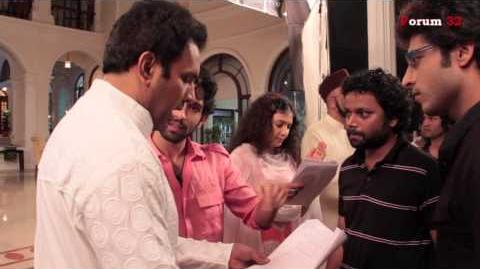 Qubool Hai - BTS - Vikram arrives in Ayaan House