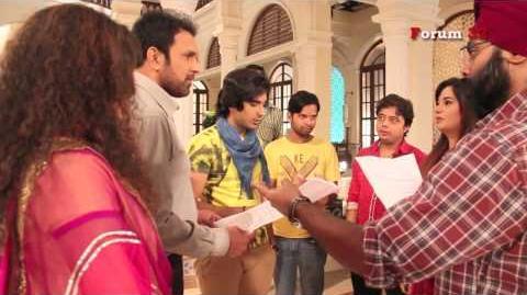 Qubool Hai - BTS - Haider Comes to Raashid's House!