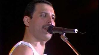 Queen - Crazy Little Thing Called Love (Live At Wembley Stadium, Friday 11 July 1986)