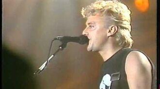 The Cross - Feel The Force (London 1987)