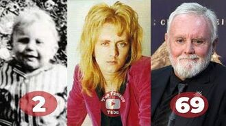 Roger Taylor - Transformation From 2 To 69 Years Old