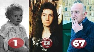 John Deacon - Transformation From 1 To 67 Years Old