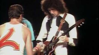 Queen - Staying Power Live from Milton Keynes '82