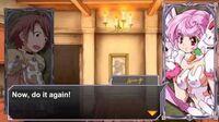 Queen's Gate Spiral Chaos Freetalks Translation- Luna (2 of 2) (+kiss scene)