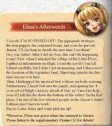 Elina Defeat Summary