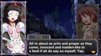 Queen's Gate Spiral Chaos Freetalks Translation- Aine (2 of 2) (+kiss scene)