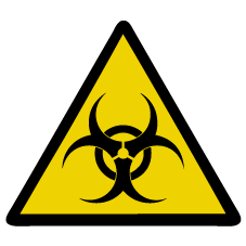 Chemical Biohazard Patch
