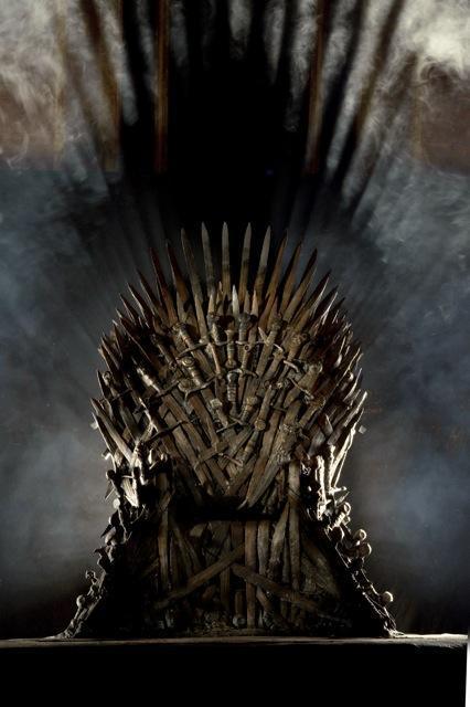 Iron throne HBO