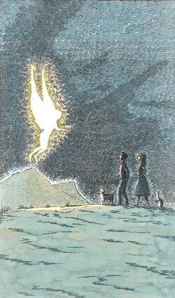 Xafania appare a Will e Lyra