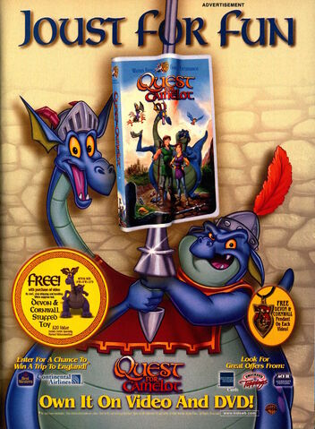 File:Nickelodeon Magazine November 1998 Quest for Camelot Movie Advertisement.jpg