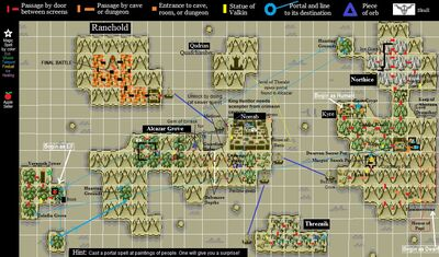 QuestLord Map