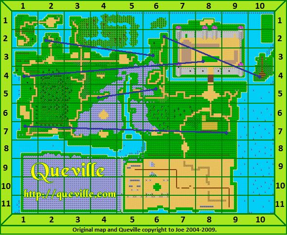 Quevillegridmap
