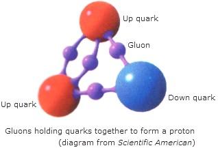 Resultado de imagen de Quarks y Gluones