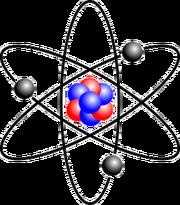 Stylised Lithium Atom