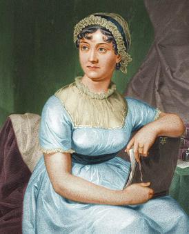 Jane Austen coloured version