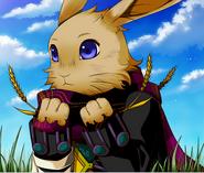 Elliot's Rabbit Form!