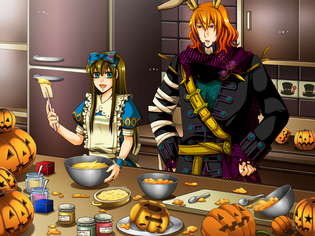 File:Elliot and Alice Cooking.png