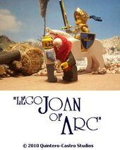 Lego Joan of Arc